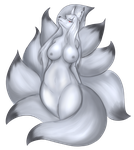 A  Silver Regal Fur by Luxianne