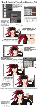 How I shade in Photoshop by shika-fangirly