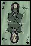 Regulus Black tarot by Emma-O-Lantern