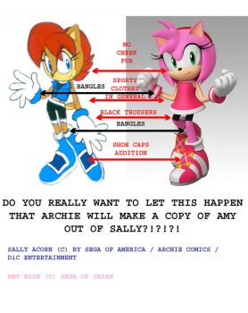 Sally und amy - the composition by BlueSonicGamer