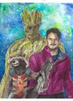 Guardians of the Galaxy by Catrout