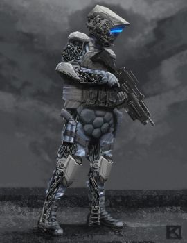 Exo-Soldier by Apollyon888