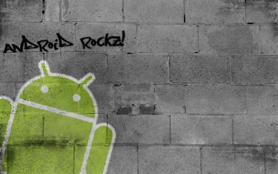 Android Graffiti by odamiean