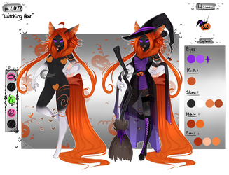 GA: LU12 Bamharr Halloween - Witching Hour CLOSED by Lunathyst
