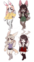 .:Bangin' Babes Adopts:. Auction [1/4 OPEN] by Caiote