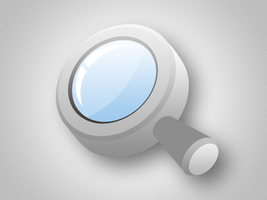 Free Psd File of 3D Magnifying Glass  3d magnifyin by Designhub719