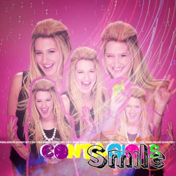 Contagious Smile{Ashley Tisdale} Blend ! by paaulangdon