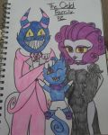 An Odd Family is The Best Family {Contest Entry!} by peanutzombiee