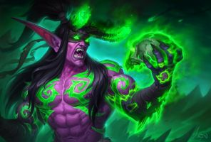 Illidan by lunraw