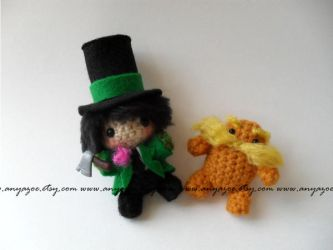 The Lorax Amigurumi by AnyaZoe
