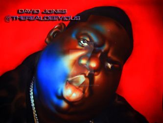 The Notorious B.I.G. by DeeViouS001