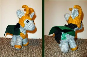 Loki Pony Ami by MilesofCrochet