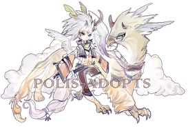[CLOSED]adopts auction 71- Aisurah - Wind Strikers by Polis-adopts
