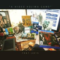 A Hideo Kojima Game (1987-2015) by marblegallery7