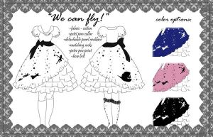 we can fly - dress for lolita by may-chu
