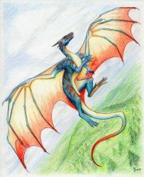 Fly High by oakendragon