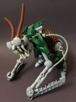 Bionicle MOC: Rust Ghoul by LordObliviontheGreat
