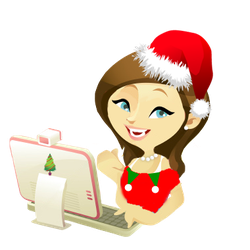 Doll PNG Vector Christmas by MFSyRCM