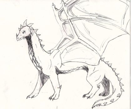 My Insperation Dragon by Canine--Artist