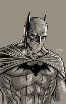 Batman sketch by RyanBodenheim
