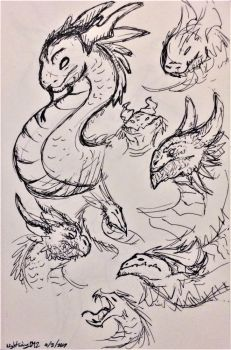 Pen Dragons! by Nightwing042
