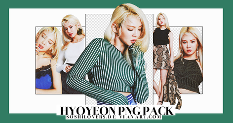 [PNG PACK] Hyoyeon #O3 by Soshilovers9