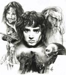LOTR The Fellowship one by choffman36
