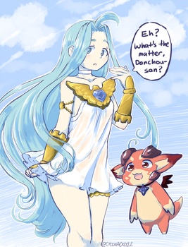 Lyria's dress now by the-chinad011-house