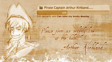 Captain Kirkland Reponds to Poll #1 by Arkham-Insanity