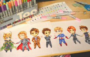 Photo of AVENGERS :D by Fiveonthe