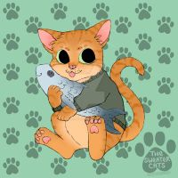 thesweatercats - Orange Tuna by colormymemory