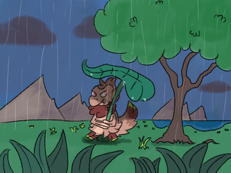 Sun Showers -Not so sunny- by osterfire