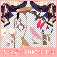 PNG Pack #2 'Shikimi' by JessxFlyller