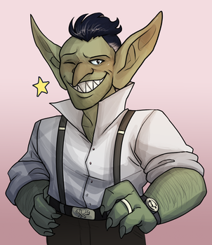'Dream Daddy' Goblin by NEOmi-triX