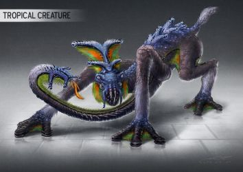 Tropical Creature by misi006