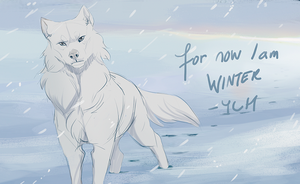 YCH: For now I am winter by impalae
