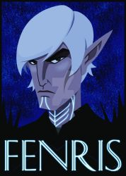Fenris - Glow in the dark by Todd-the-fox