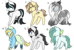 Adoptable's (Closed) by EpochAii