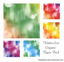 Origami Paper Pack 3 by MapleRose-stock