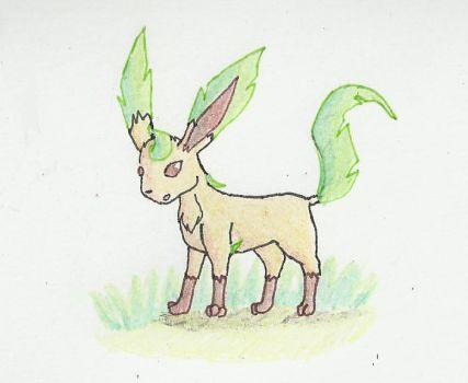 Leafeon -- Contest Entry by LuzrovRulay