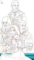 AC Rogue Poster WIP - Assassins by imajanaeshun