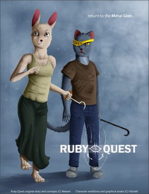 Ruby Quest Poster 3 by Fiidchell