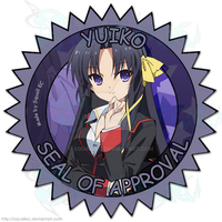 Yuiko Seal of Approval by SquallEC