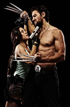 Wolverine and Lara 003 by Howlettjames1981