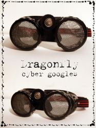 Dragonfly Cyber Googles WIP by JesterDae
