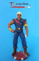 The Pirates of Dark Water - Ren Custom Figure by zelu1984