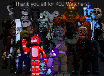 Thank you for 400 Watchers! by Mechlellan