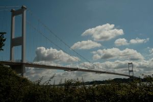 The Old Severn Bridge by Tinap