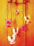 Faery Mobile of my Art Prints2 by mertonparrish
