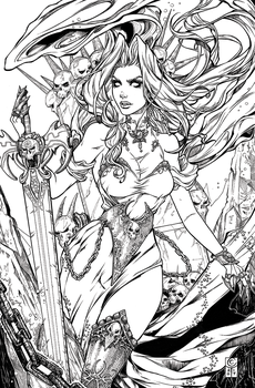 Lady Death Inks by ColletteTurner